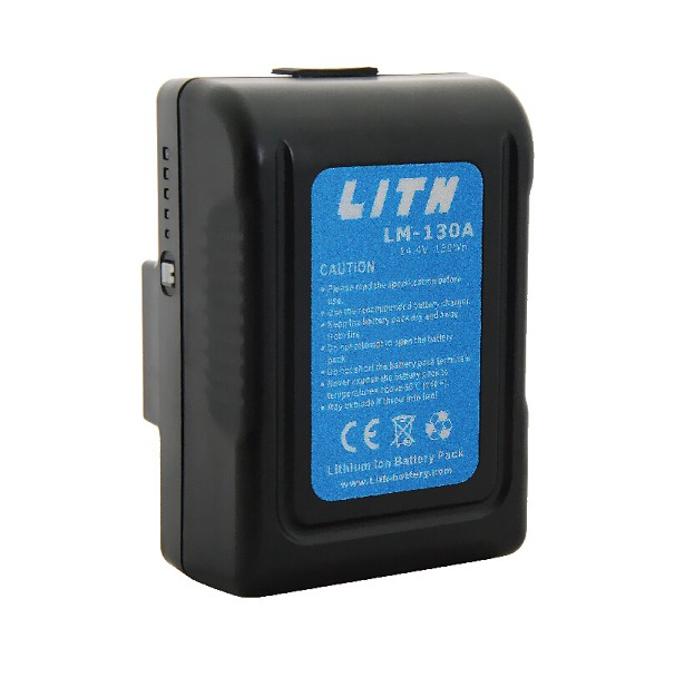 LM-130A 130Wh Gold Mount MINI Li-ion Battery