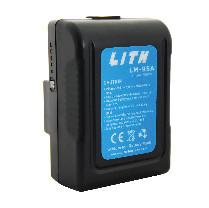 LM-95A 95Wh Gold Mount MINI Li-ion Battery