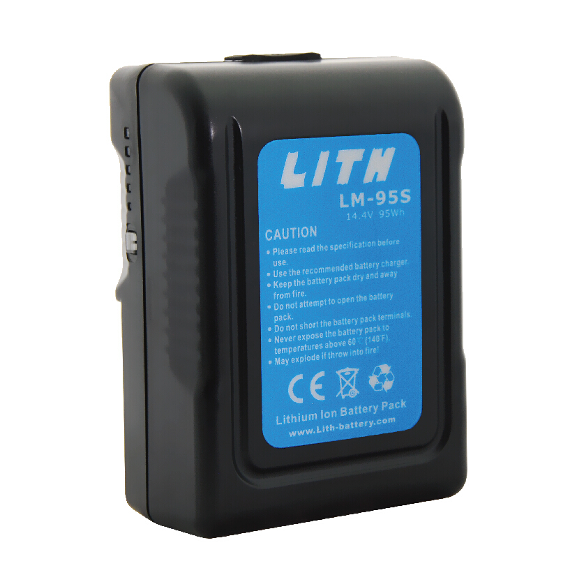 LM-95S 95Wh V-Mount MINI Li-ion Battery